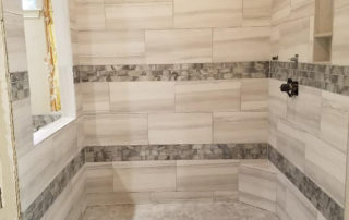 05 2018 Designer Shower in progress