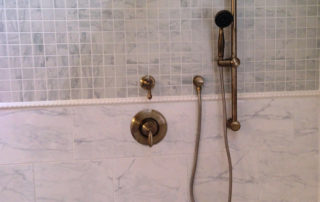 Shower design and plumbing accents 551