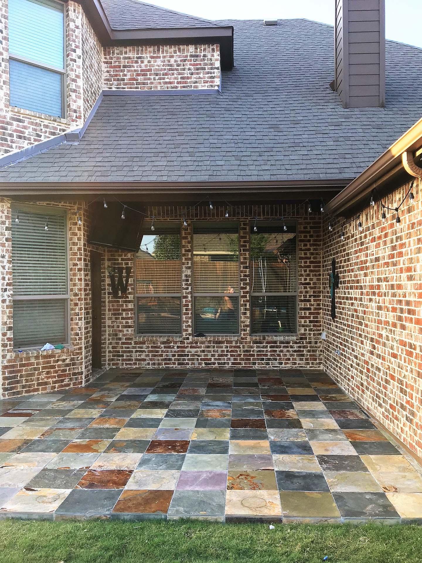 6 Slate Porch Tile