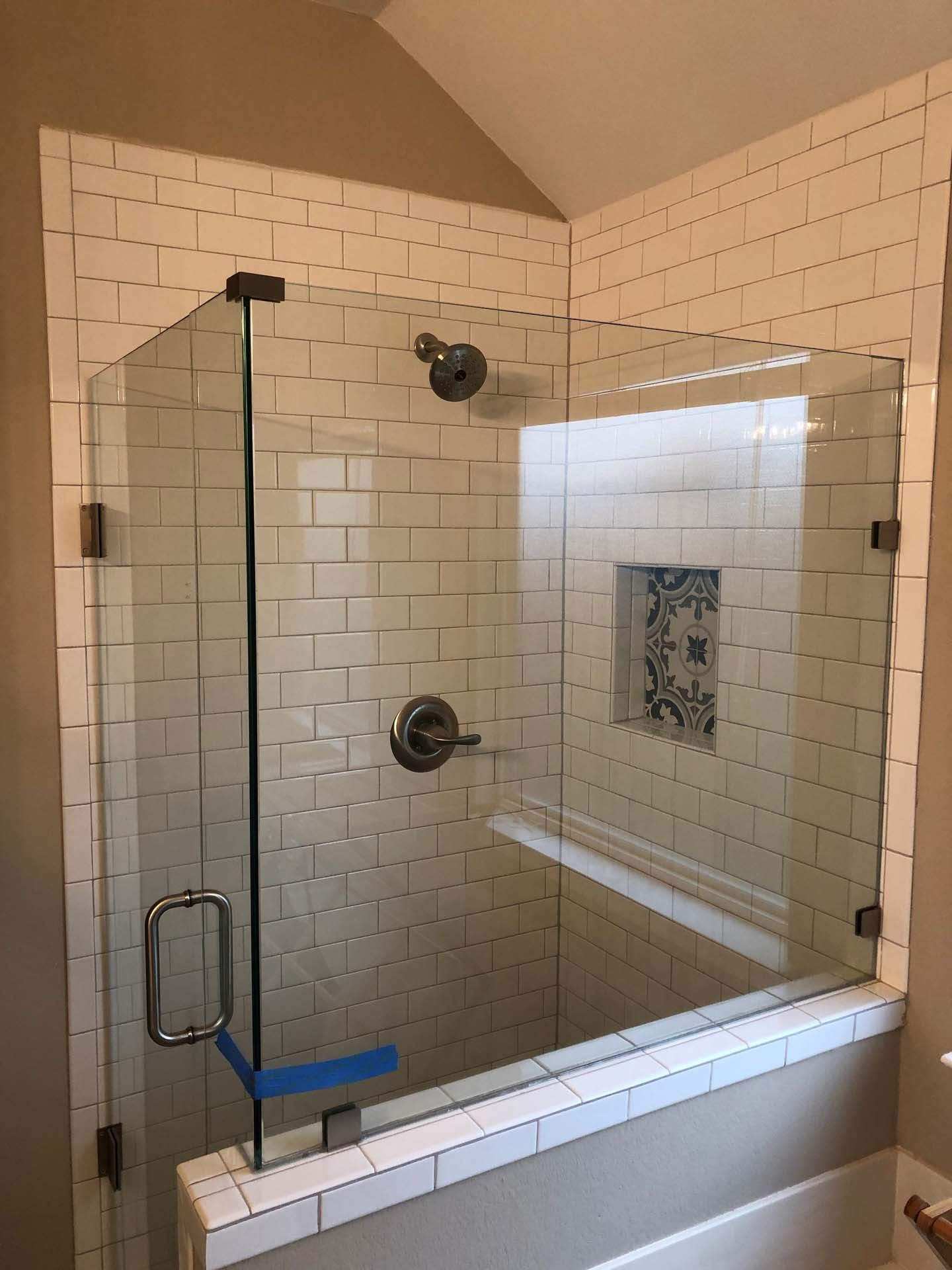 Dyer Glass Shower