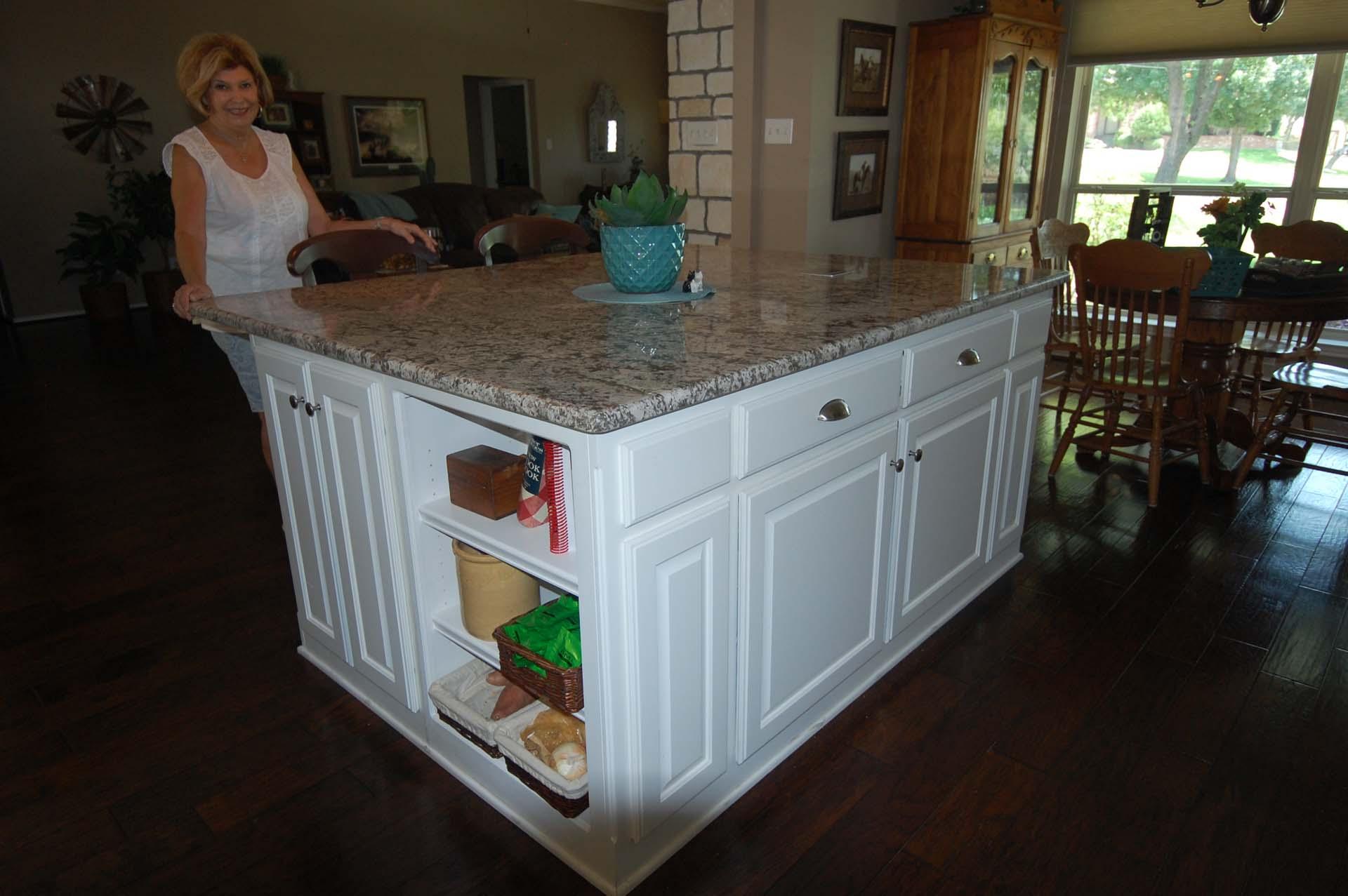 Glue down wood Floors and Granite Countertop