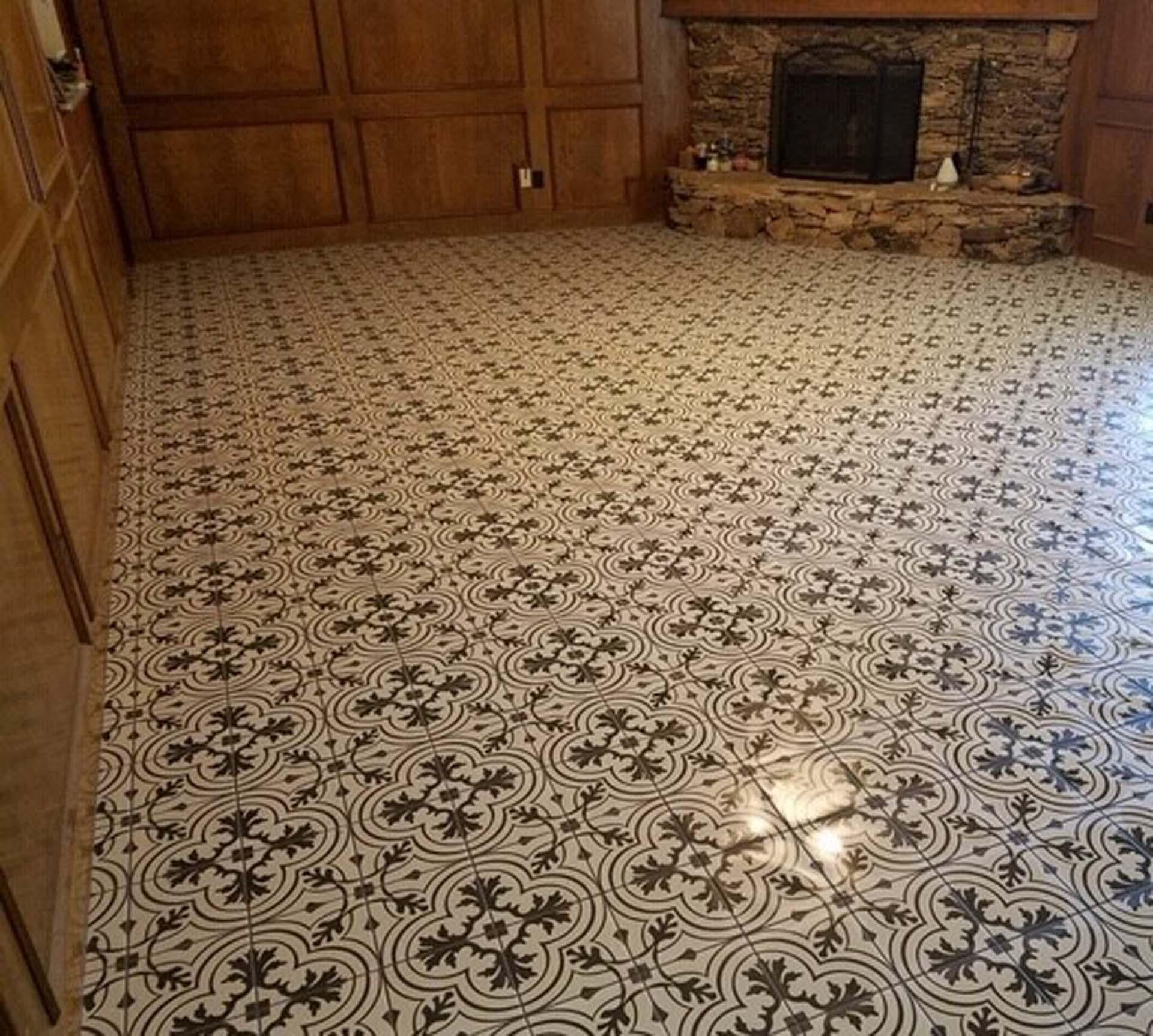JH Floor deco straight lay